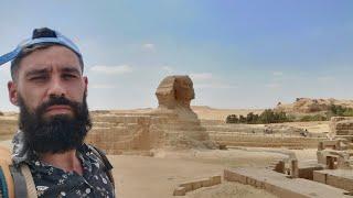 EGIPT – SFINKS PIRAMIDY I AWARIA ZĘBA