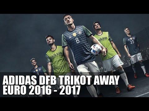 Adidas DFB Away Trikot (Euro 2016) - Deutschland Trikot 16/17