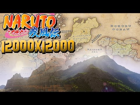 Download Map Naruto World 5 0. The World of Naruto  Painter 12000x12000 Minecraft Project