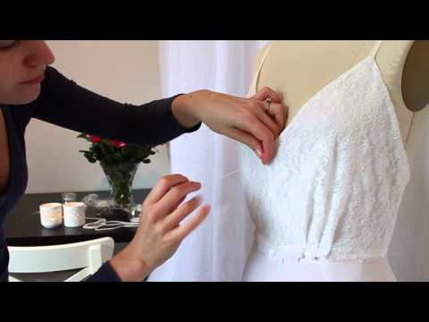 The Making of: Beaded Detail on a Wedding Dress
