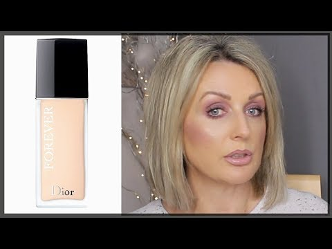 NEW DIOR FOREVER MATTE FOUNDATION- Review and Demo
