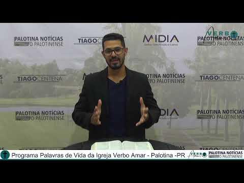 Programa Palavras de Vida com Pastor Cleiton Martins 27/04/21