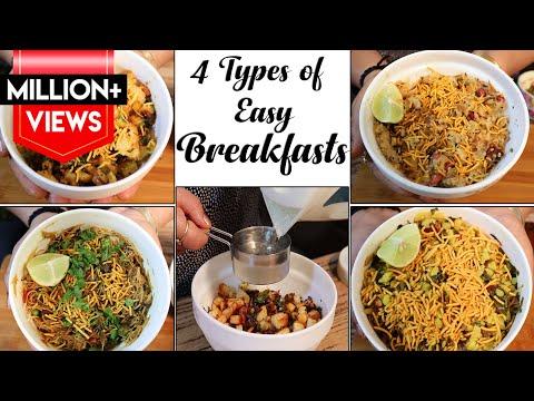 6 दिन बनाये 6 तरीके के टिफ़िन ऑफिस के लिए | Tiffin Recipe For Whole Week | Indian Lunch Box Recipes |
