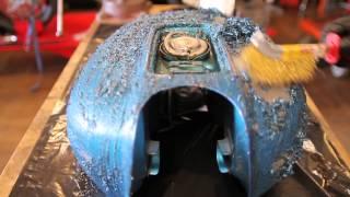 Motorcycle Restoration Part 9: Seat & Tank