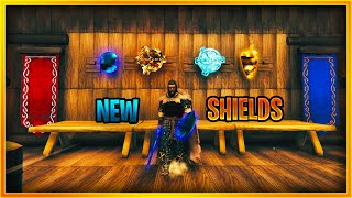 New flametal and frometal shields