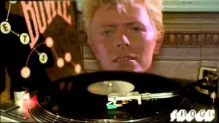 David Bowie - Let's Dance (vinyl, 45 rpm) HD