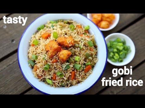 gobi fried rice recipe