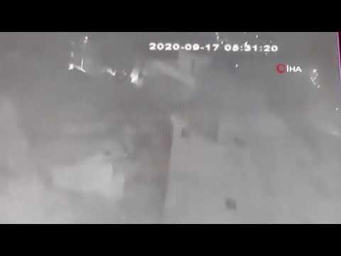 İzmir'de tüp bomba gibi patladı