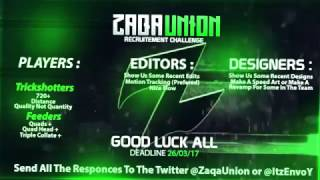 Zaqa Union Recruitment Challenge #ZaqaRC @ZaqaUnion @ItzEnvoY