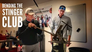 Bending All My Irons With Help From The Legend Mike Bury | Checking The Loft And Lie Of My Clubs