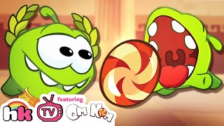 Cartoon   Om Nom Stories: Ancient Greece   Funny Cartoons For Children   HooplaKidz TV