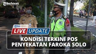 Kondisi Pos Penyekatan Faroka Solo di H-2 Jelang Lebaran, Ada Pemudik yang Positif Covid-19