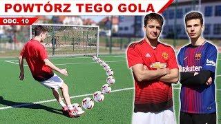 POWTÓRZ GOLA | Barcelona VS Manchester United - Rekonstrukcje bramek | GDfootball