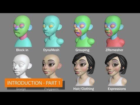 Pixologic :: ZBrush 3D to 2D