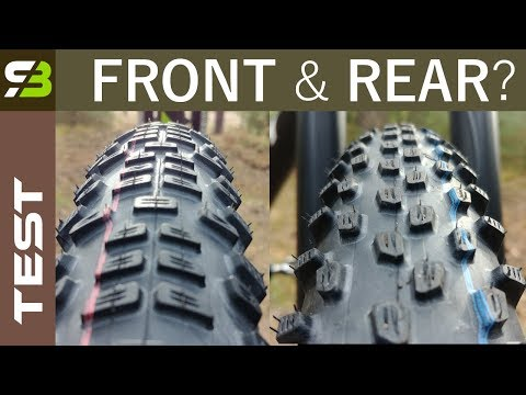 Rear & Front Specific Tires? New Schwalbe Racing Ralph and Ray. Review.