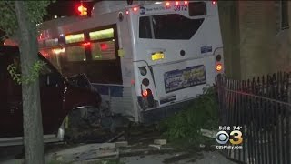 Driver Of Runaway Bus Suspended After Clipping Cars, Crashing Into Church