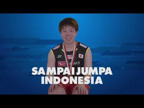 Blibli Indonesia Open 2019 - Story Of The Medal AKANE YAMAGUCHI (JPN)