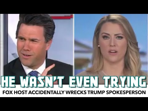 Fox Host Accidentally Wrecks Trump Spokesperson With Basic Questions