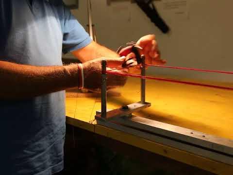 Come costruire una corda per arco nudo 2 pratica