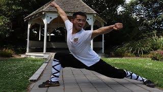 Shaolin Kung Fu Wushu Training-Seven Star Fist Tutorial Part 1 ( Top 10 Famous Form )
