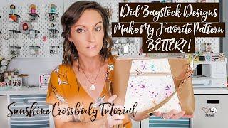 FREE PATTERN! Sunshine Wristlet Crossbody! A Beautiful Update To One Of My Favorite Bags!