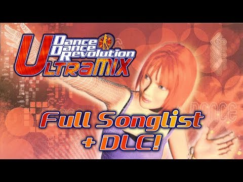 DanceDanceRevolution ULTRAMIX (Xbox) Full Songlist + DLC