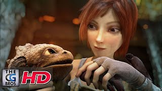 "CGI 3D Animated Short: ""Sintel"" - by Blender Animation Studio 