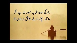 Beautiful and very heart touching quotes in urdu Part 3 | Urdu Quotations about life (Zindagi)