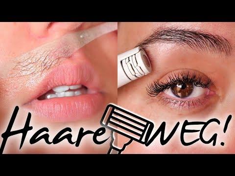 Gesichtshaare entfernen I Damenbart weg I Meine Erfahrung