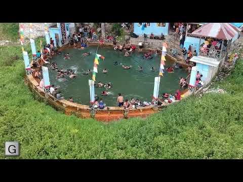 Tahukah Anda...!!,Pemandian Air Soda Hanya Ada 2 di Dunia,Pemandian Parbubu Tarutung dan Satu Lagi di Venezuella