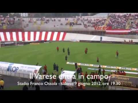 Il Varese entra in campo