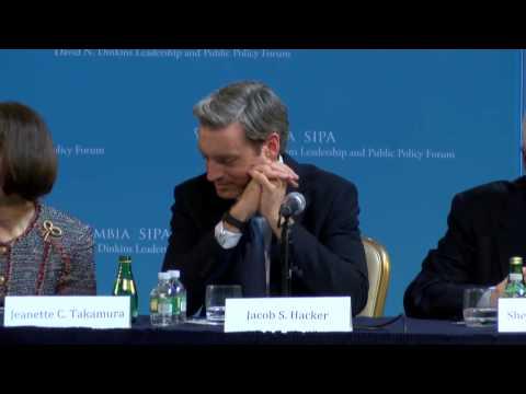Hillary Clinton Keynotes 18th Annual Dinkins Forum