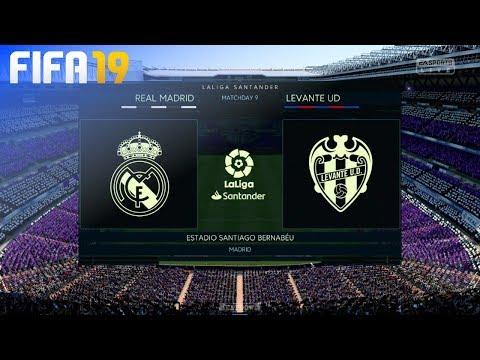 FIFA 19 - Real Madrid vs. Levante UD @ Estadio Santiago Bernabéu