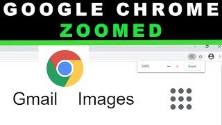 Google Chrome too zoomed FIX