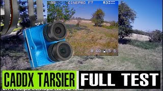 Caddx Tarsier 4K FPV camera test | test footage | long term review | settings and tips