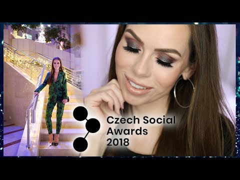 GRWM NA CZECH SOCIAL AWARDS 2018 S BY PETRA PALETKOU