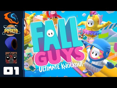 Takeshi's Castle: The Game – Let's Play Fall Guys: Ultimate Knockout [Multiplayer] – Part 1