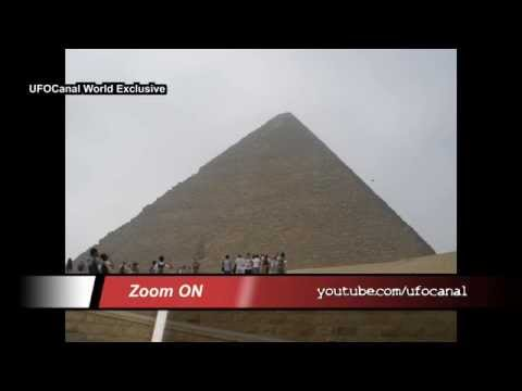 REAL UFO 2014 Verified !! Alien on tape over The Great Pyramid Of Giza !! HD World Exclusive!!