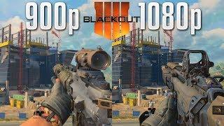Blackout PS4 vs. PS4 Pro Graphics Comparison (HUGE DIFFERENCE!)