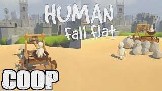 HUMAN FALL FLAT (FR) - 01 : COOP LOCAL (FT. KEVIN) | PC 60FPS