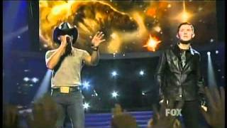 Scotty McCreery & Tim McGraw - Live Like You Were Dying - American Idol 10 Finale - 05/25/11