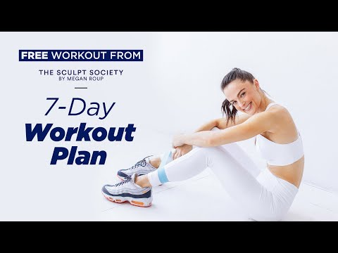 Introducing the Sculpt Society 7-Day Full-Body Workout Plan byMeganRoup