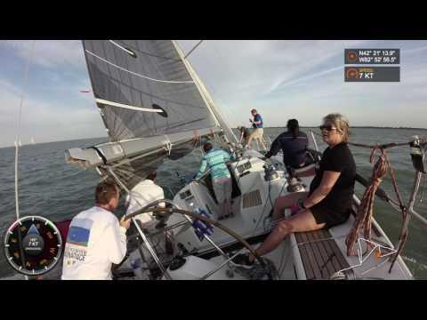 Windy start for 2017 racing season! 25+ knots..