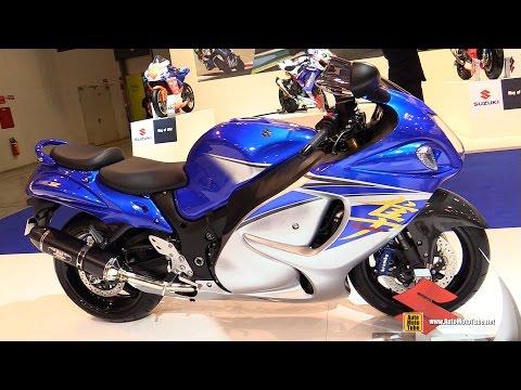 2015 Suzuki Hayabusa ABS GSX-R1300 - Walkaround - 2014 EICMA Milan Motorcycle Exhibition