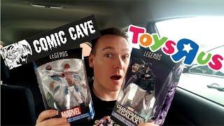 "TOY HUNTING #04 - Neue Figuren !!! Toys""R""Us & Comic Cave !!! (Deutsch)"