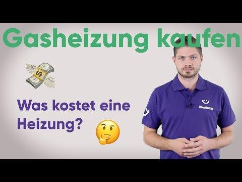 Gasheizung kaufen - Was kostet eine Heizung?