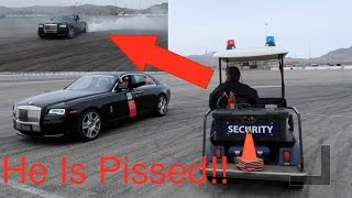 How to do Donuts with a Rolls Royce Ghost