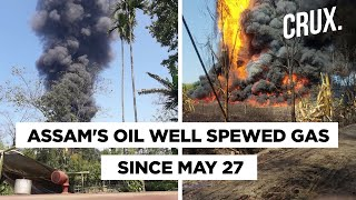 Massive Fire Engulfs Assam Baghjan Oil Well - Download this Video in MP3, M4A, WEBM, MP4, 3GP