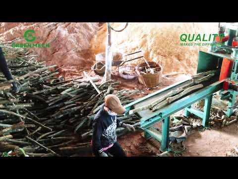 Chuyển giao máy nghiền mùn cưa trồng nấm