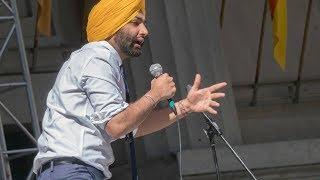 In preparation for his speech Angad Singh Padda 17 asked 70 of